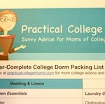 College Dorm Packing List for Gals: 2012